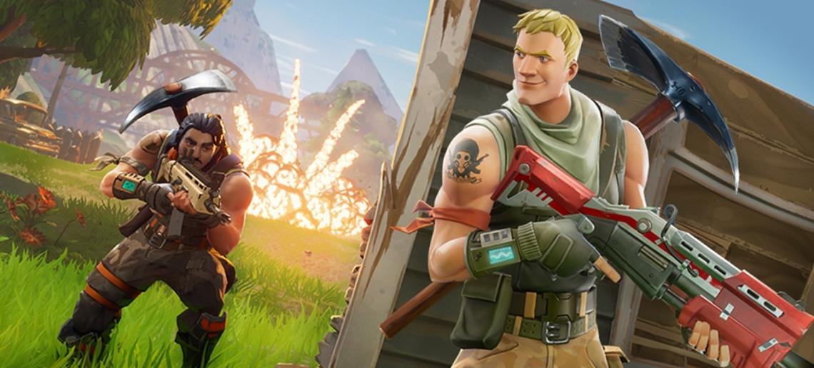 FORTNITE BATTLE ROYALE COMES TO IOS ANDANDROID