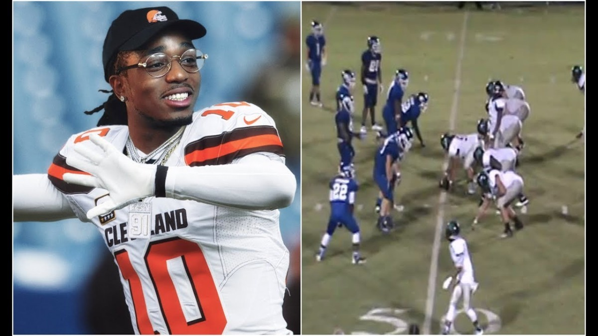 QUAVO RELEASES HIGH SCHOOL FOOTBALL HIGHLIGHTS