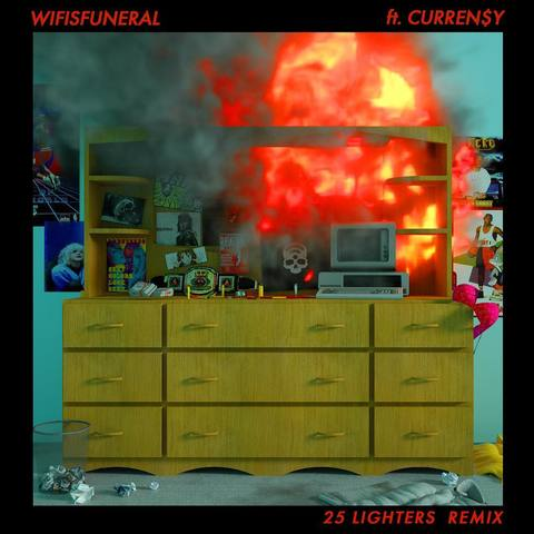CURREN$Y & WIFISFUNERAL – 25 LIGHTERS(REMIX)