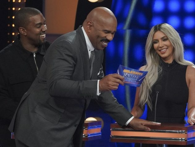 KANYE ON FAMILY FEUD WITH THE KARDASHIANS
