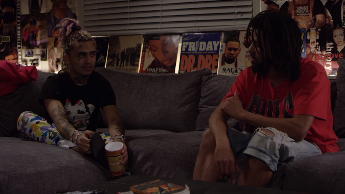 J.COLE & LIL PUMP INTERVIEW EACH OTHER (FULLVIDEO)