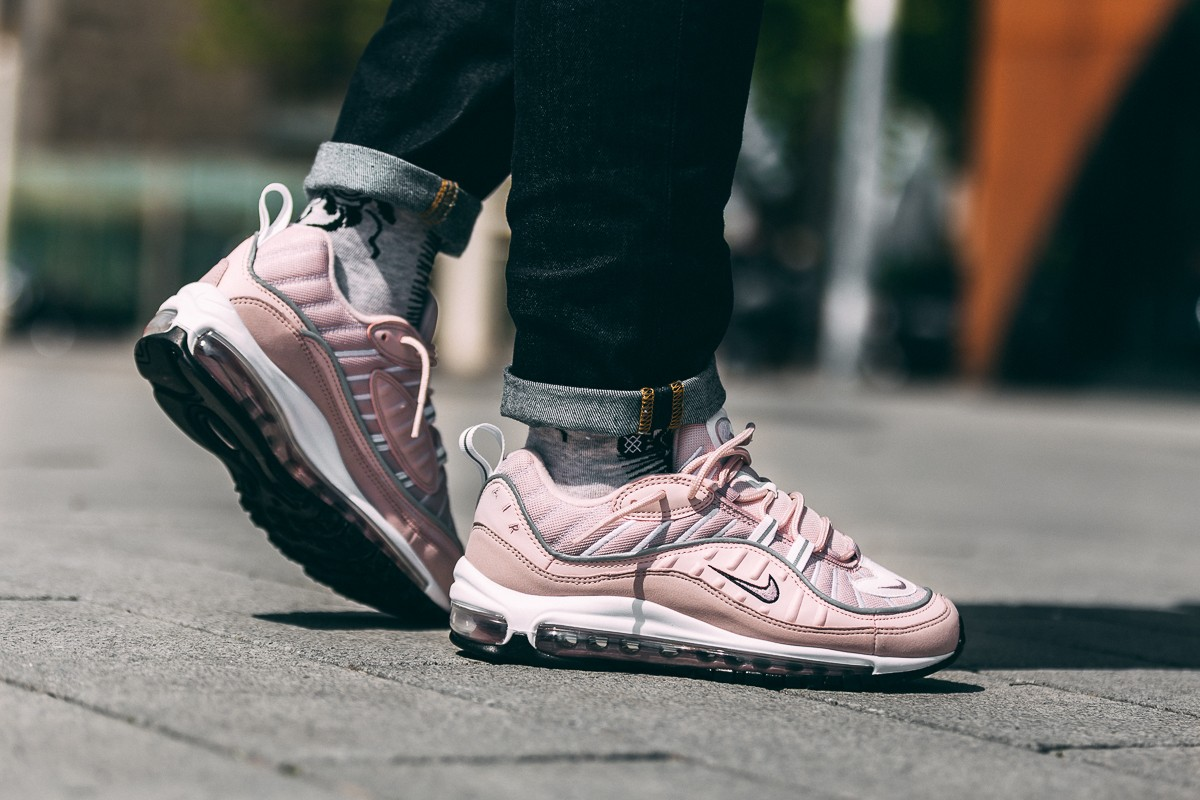 NIKE AIR MAX 98 'BARELY ROSE' (CLICK TO BUY)