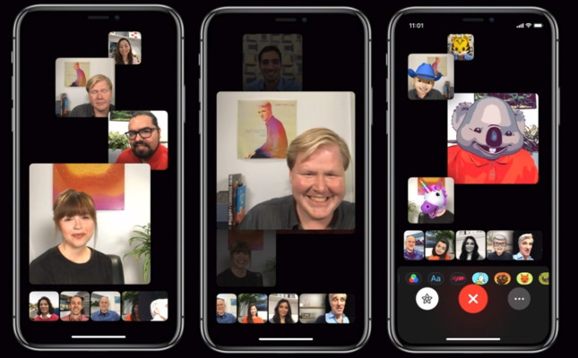 APPLE REVEALS 'GROUP FACETIME' ALLOWING 32 PEOPLE ON ONE CALL