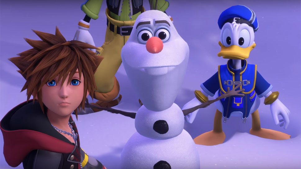 KINGDOM HEARTS 3 (FROZEN TRAILER)