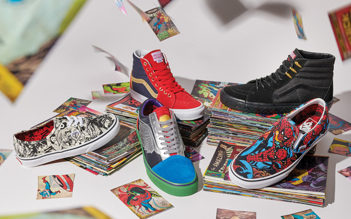 MARVEL x VANS 2018 COLLECTION