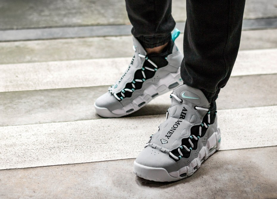 NIKE AIR MORE MONEY 'ISLAND GREEN' (CLICK TO BUY)