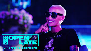 AMBER ROSE OPENS HER HOME TO ROSENBERG (OPEN LATE)