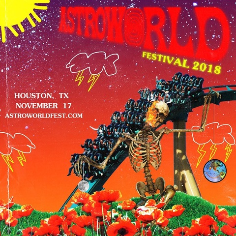 TRAVIS SCOTT ANNOUNCES 'ASTROWORLD FEST' (PRE-SALE TICKETS)