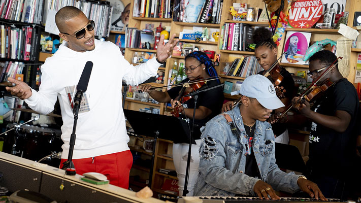 T.I. 'TRAP MUZIK' NPR TINY DESK CONCERT (VIDEO)