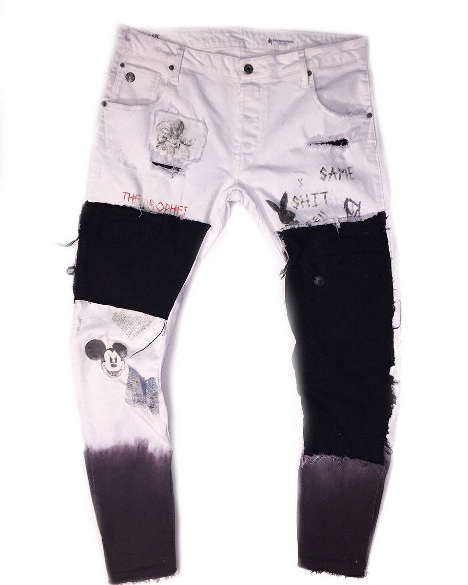 CREATED BY KEV 'G-Star RAW x CBK' CUSTOM DENIM